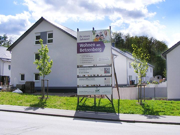 Bauunternehmen Kaiserslautern wohngebiet am betzenberg citynah im grünen wohnen kaiser